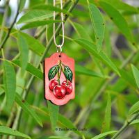 Hand painted necklace ii by dasidaria-art