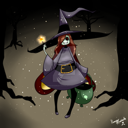[L.C] Secret Halloween - Mizuka by PrincessMustache