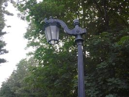 Old Light Post02 by wishing-star-stock