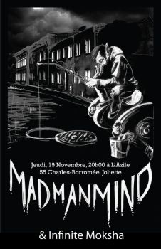 Mad Man Mind - Poster 2 by Renvoyure