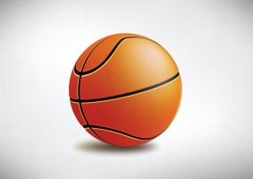 Vector Basketball by superawesomevectors
