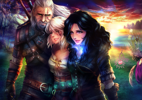 Witcher - Something ends, something begins by CherryInTheSun