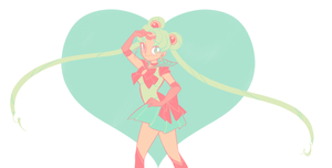 sailor moon by mintycanoodles