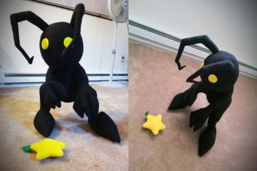 + Shadow Heartless Plush + by hiyoko-chan