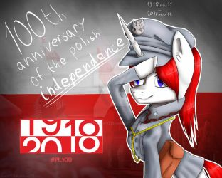 100th Anniversary Of The Polish Independence by Creampaint12