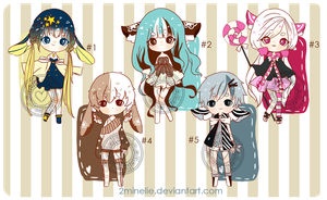 [OPEN] Adoptable Set Price Batch #1 by 2minelie