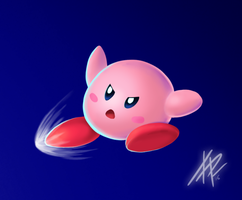 Kirby Smash by RoydGriffin