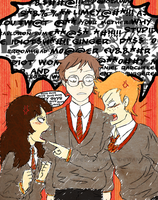 TnP - Harry, Ron and Hermione by Renegades0fFunk