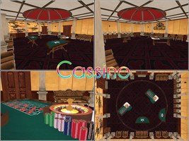 MMD Stage: Cassino by kaahgomedl