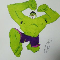 The Incredible HULK  by dapthehomie