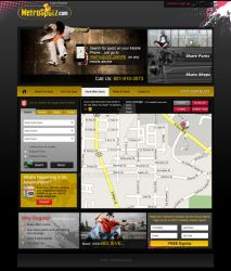 metrospotz website design by acelogix
