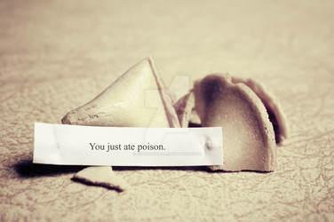 Fortune Cookie. by asleavesfall