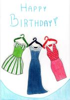 Birthaday card by MagPiek