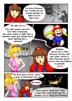 Princess Mario - Page Thirty by FieryJinx