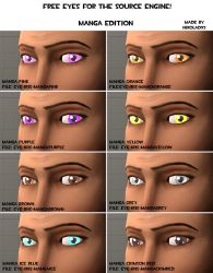 Manga eye pack [DL] by Nikolad92