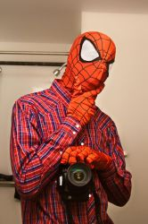 CASUAL SPIDEY by Armored-dogg2