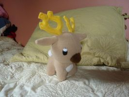 stantler plushie commission by Plush-Lore
