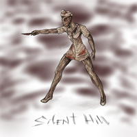 Silent Hill Nurse by RoomsInTheWalls