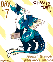 Christmas Adopts Day 7: DUTCH ANGEL DRAGON CLOSED by SHOUTMILO