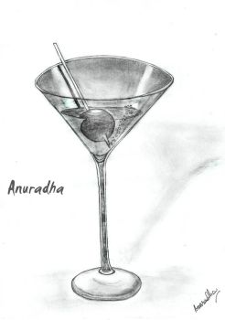 Martini Glass by SouthSiren