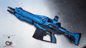 Destiny Auto Rifle 1:1 scale Prop Replica by Evil-FX