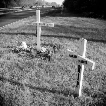 Roadside Memorials: Headley Hill Rd, 3 by aymiah
