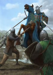 Battle of Courtrai by EthicallyChallenged