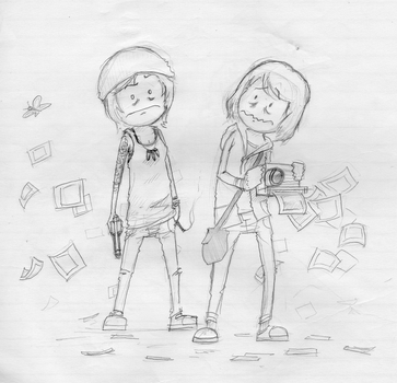 Old Notebook Scans 5 (Life Is Strange) by StopSignal
