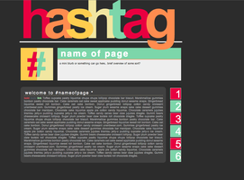 Hashtag by elenahboo