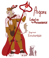 Emotiontale: Asgore by MirageComet