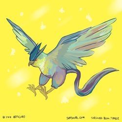 Articuno by kittehmeow