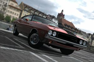 dodge challenger rt 3 by JoshuaCordova