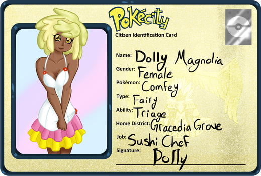 PokeCity : Dolly Magnolia by RosaDunsparce