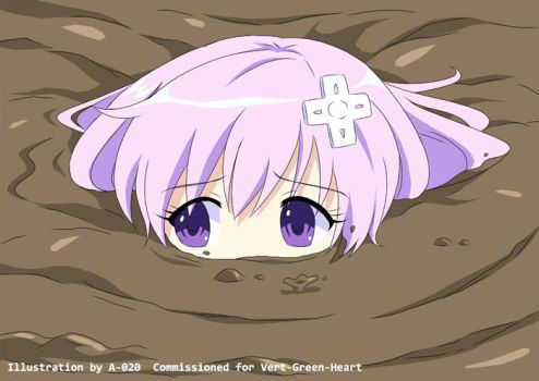 Nepgear in Quicksand 06 by A-020