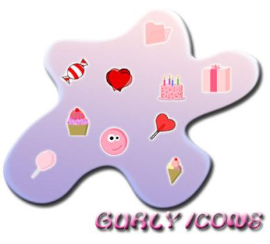 gurly icons set by reut