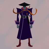 Scaramouche the Merciless (from Samurai Jack) by ArtsyRC