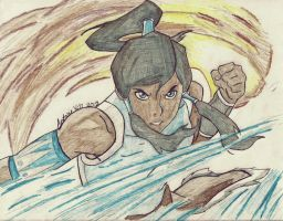The Legend Of Korra by Wanted75
