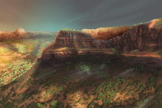 Sedona by chateaugrief