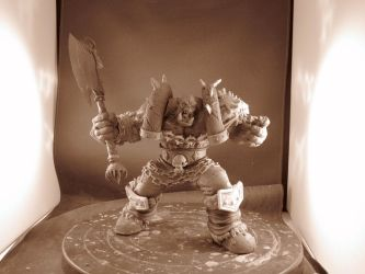 Garrosh for Dc Direct Blizzard by ZKULPTOR