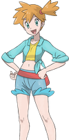 Leader Misty in Alola by Alexalan