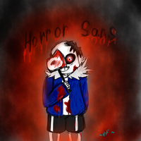 Horrortale Sans by RuddyFeeD