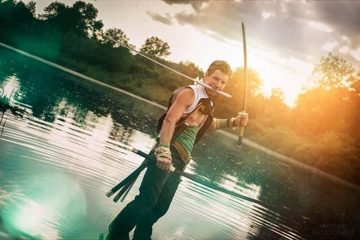 Zoro - Sunset by Zack-Fair-7