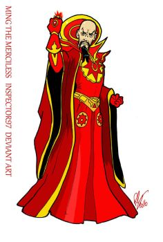 Emperor Ming The Merciless by Inspector97