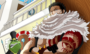 Katakuri Waiting for Luffy (One Piece CH. 874) by FanaliShiro