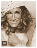 sarah jessica parker_gap by casual-funky-monkey