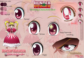 Hunter x Hunter - Bisky's Eyes by Andy-chanWantToDraw
