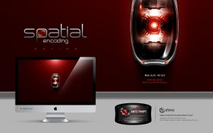 Spatial Encoding Vigilant Red by submicron