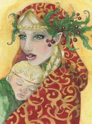 Blessed Yule 2009 by Odins-Girl