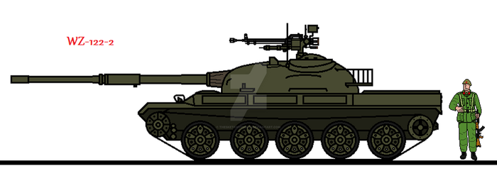 WZ-122-2 by thesketchydude13