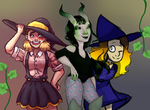 Spooky Collab by All-The-Fish-Here